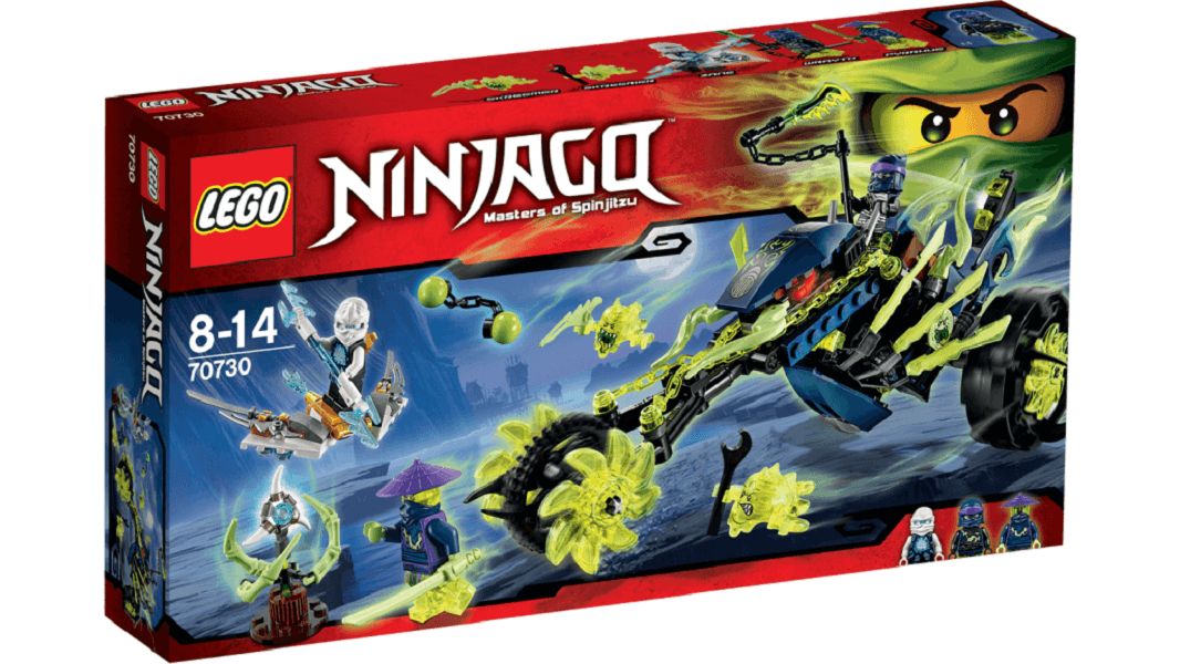 Đồ chơi Lego Ninjago Chain Cycle Ambush 70730