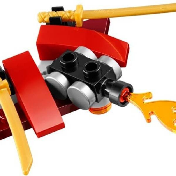 Đồ chơi Lego Ninjago Condrai Copter Attack 70746- Máy bay độc xà