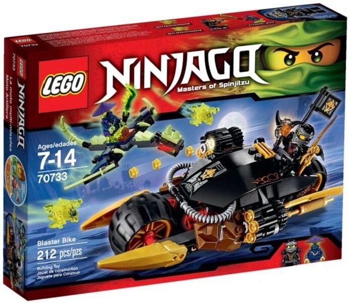 Đồ chơi Lego Ninjago Blaster Bike 70733 - Xe Phá Hủy