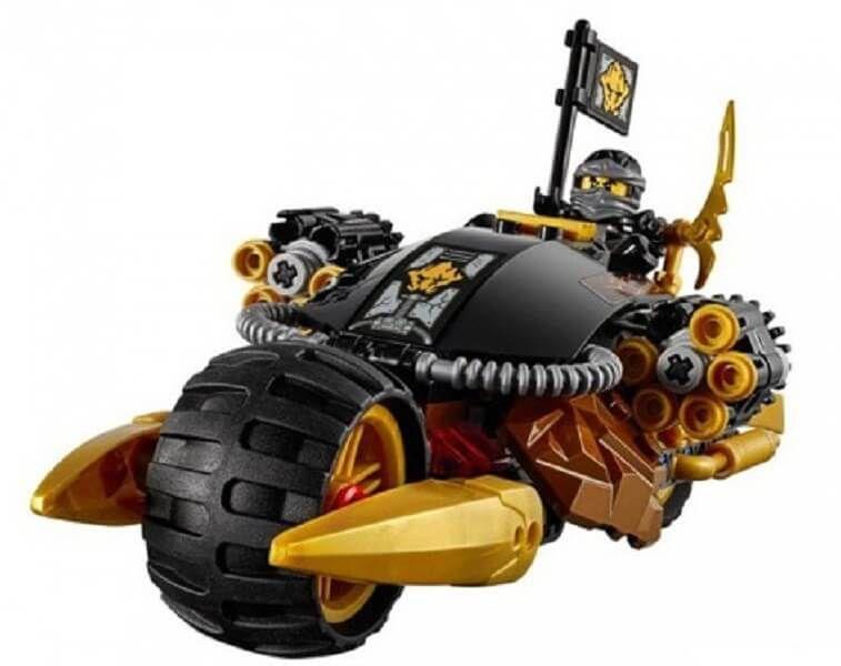 Đồ chơi Lego Ninjago Blaster Bike 70733- Xe Phá Hủy