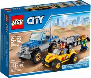 Do Choi Lego City Dune Buggy Trailer 60082