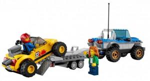 Do Choi Lego City Dune Buggy Trailer 60082-8