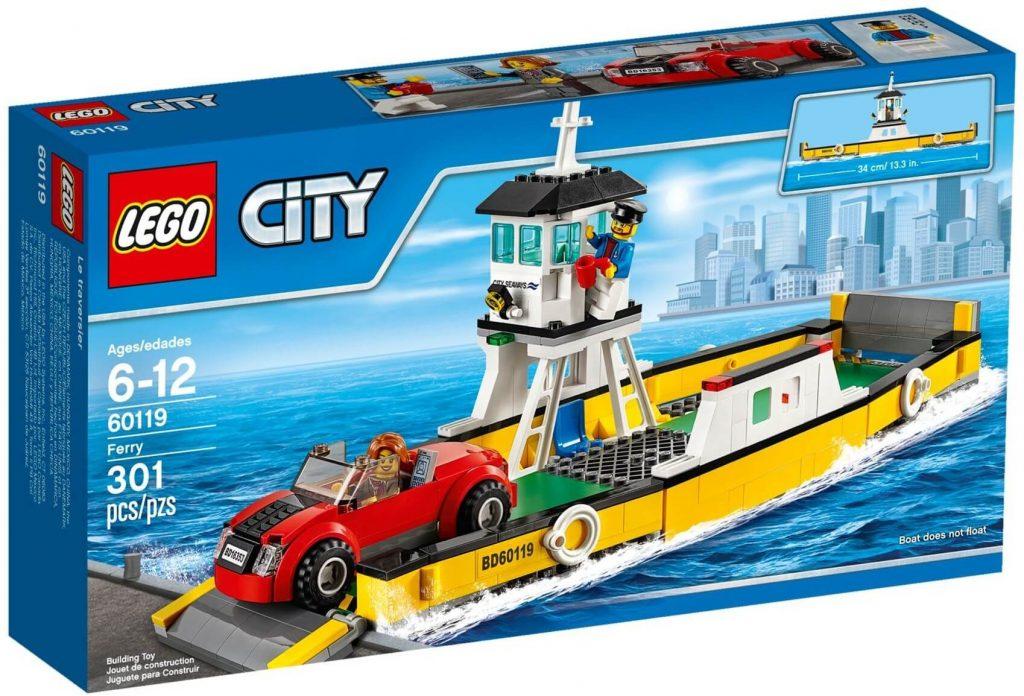 Do Choi Lego City Ferry 60119-5