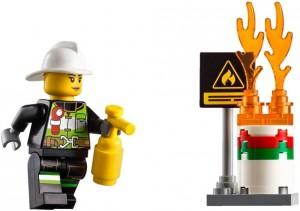 Do Choi Lego City Fire Ladder Truck 60107-3