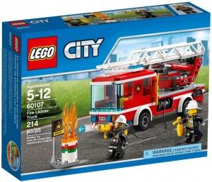 Do Choi Lego City Fire Ladder Truck 60107