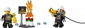 Do Choi Lego City Fire Ladder Truck 60107-4