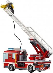 Do Choi Lego City Fire Ladder Truck 60107-6