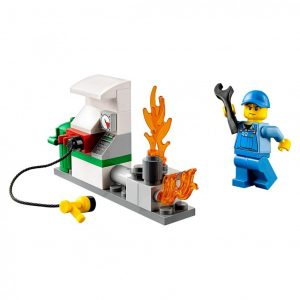 Do Choi Lego City Fire Starter Set 60106-3