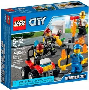 Do Choi Lego City Fire Starter Set 60106