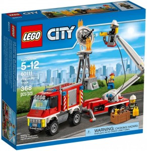 Do Choi Lego City Fire Utility Truck 60111