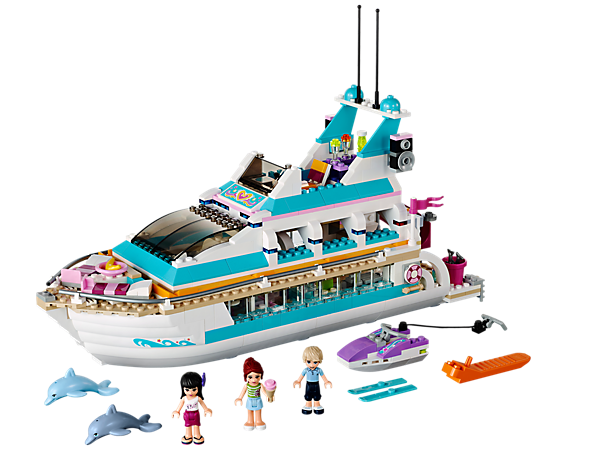 Đồ chơi Lego Friends Dolphin Cruise 41015 – Du thuyền cá heo