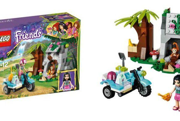 Đồ chơi Lego Friends First Aid Jungle Bike 41032 – Trạm xe trong rừng