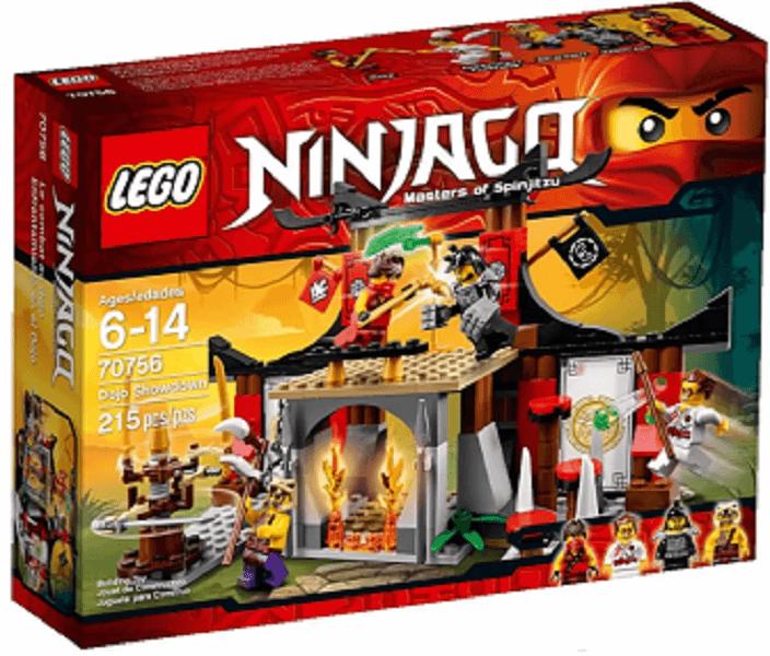 Đồ chơi Lego Ninjago Dojo Showdown 70756