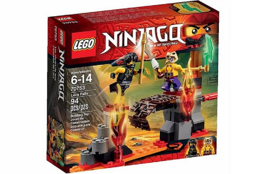 Đồ chơi Lego Ninjago Lava Falls 70753