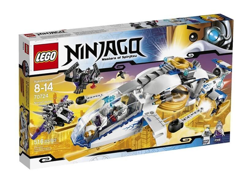 Đồ chơi Lego Ninjago NinjaCopter 70724