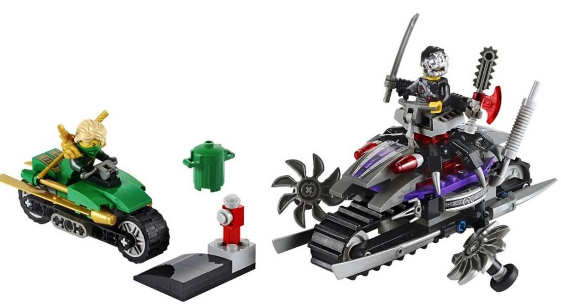 Đồ chơi Lego Ninjago OverBorg Attack 70722