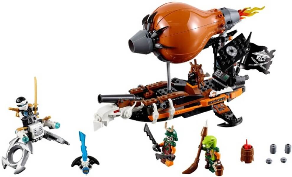 Đồ chơi Lego Ninjago Raid Zeppelin 70603