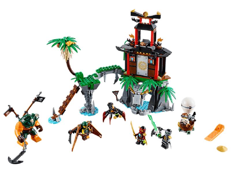 Đồ chơi Lego Ninjago Tiger Widow Island