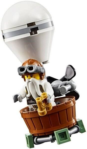 Đồ chơi Lego Ninjago Tiger Widow Island 70604