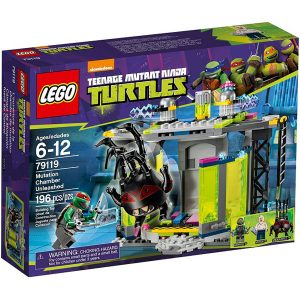 Đồ chơi Lego Turtles Mutation Chamber Unleashed 79119