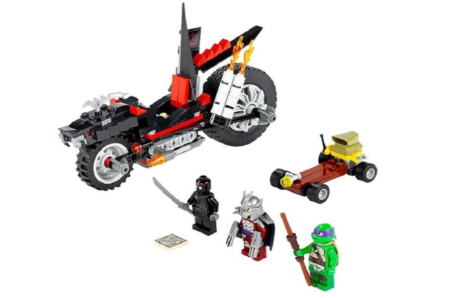 Đồ chơi Lego Turtles Shredder's Dragon Bike 79101