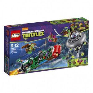 Đồ chơi Lego Turtles T-Rawket Sky Strike 79120