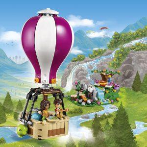 Đồ chơi Lego Friends Heartlake Hot Air Balloon 41097 – Khinh Khí Cầu Heartlake