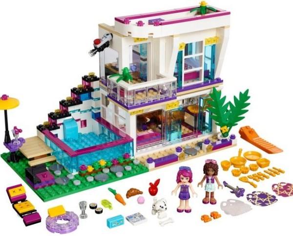Đồ chơi Lego Friends Livi's Pop Star House 41135 – Biệt thự của Livi