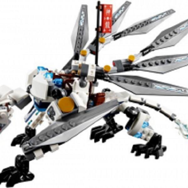 Đồ chơi Lego Ninjago Titanium Dragon 70748