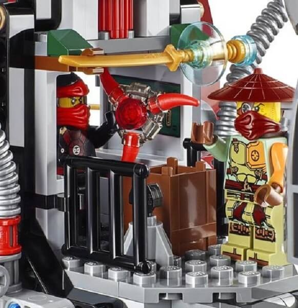 Đồ chơi Lego Ninjago Ronin R.E.X. 70735