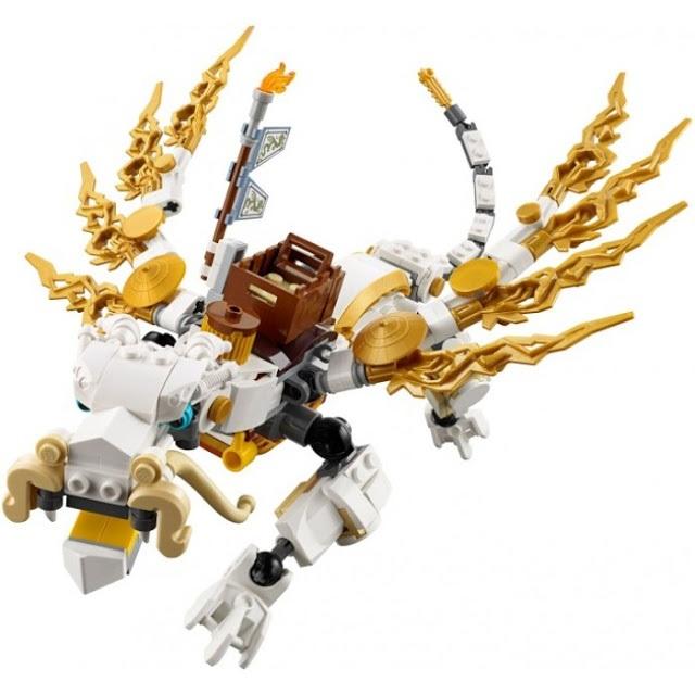 Đồ chơi Lego Ninjago Master Wu Dragon 70734