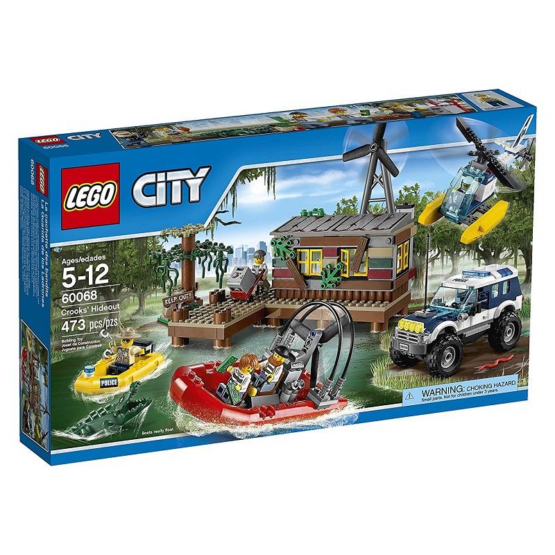 Đồ Chơi Lego city Crooks' Hideout 60068 -Hang ổ tội phạm
