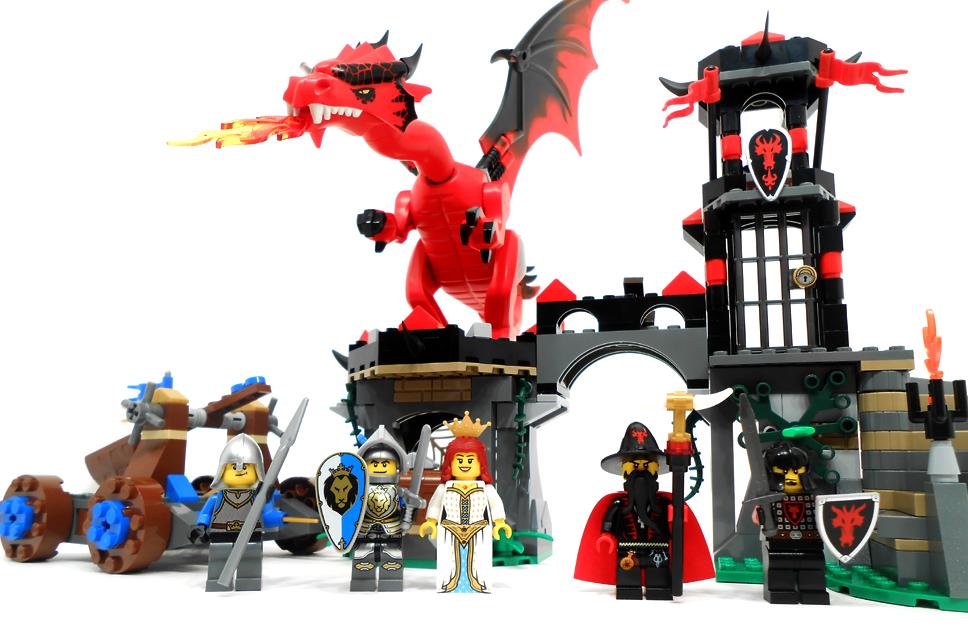 Đồ chơi Lego Castle Dragon Mountain 70403- Cuộc chiến ngọn núi rồng
