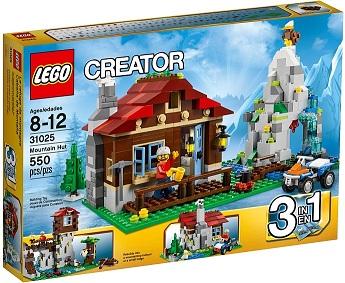 Đồ chơi Lego Creater Mountain Hut 31025 – Ngôi Nhà Trên Núi