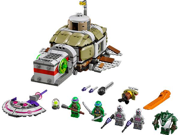 Đồ chơi Lego Turtles Turtle Sub Undersea Chase 79121