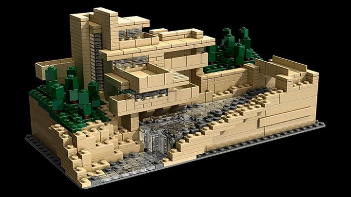 Đồ chơi Lego Architecture Fallingwater 21005