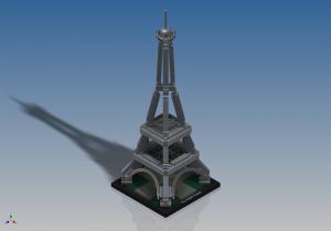 Đồ chơi LEGO Architecture The Eiffel Tower 21019 – Tháp Eiffel