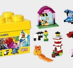 Đồ chơi Lego Classic Creative Bricks 10692 – Thùng gạch sáng tạo nhỏ