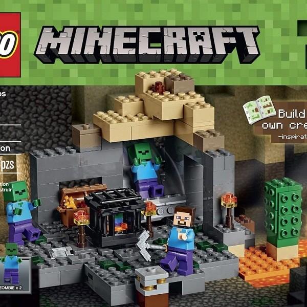 Đồ chơi Lego MineCraft Available Now 21119