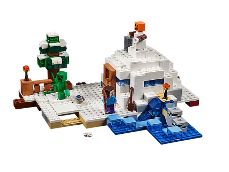Đồ chơi Lego Minecraft The Snow Hideout 21120