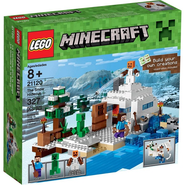 Lego Minecraft 21120 – Căn cứ băng giá