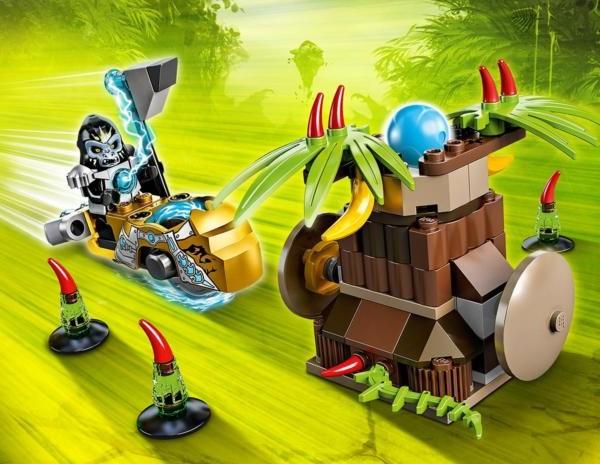 Đồ Chơi Lego chima Banana Bash 70136 – Cú Đánh Chuối