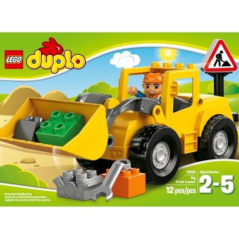 Đồ Chơi LEGO Duplo Big Front Loader 10520