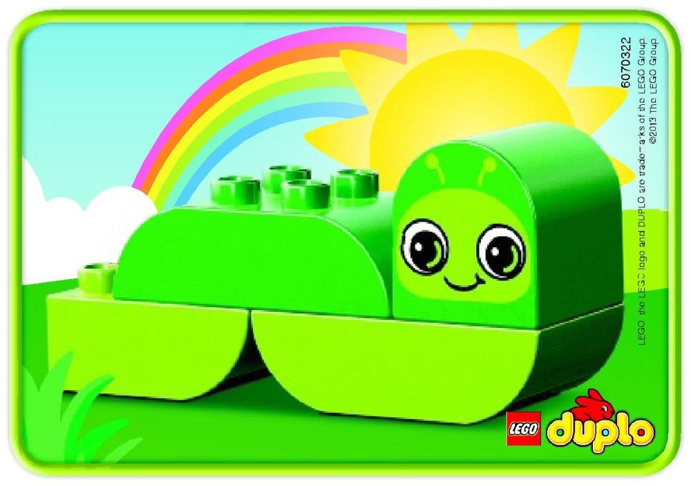 Đồ chơi Lego Duplo Creative Animals 10573 – Vườn thú của bé