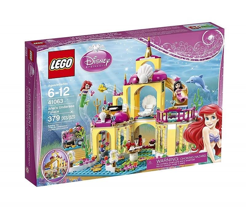 Đồ chơi Lego Disney Ariel's Undersea Palace 41063