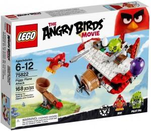 Đồ chơi Lego Angry Birds Piggy Plane Attack 75822 - Tấn công máy bay lợn