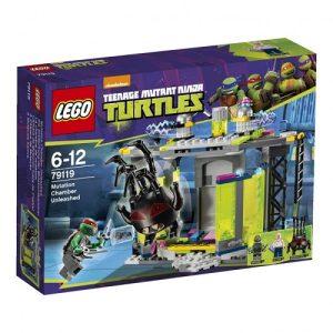 Đồ chơi Lego Ninja Turtles 79119 - Tấn Công Trung Tâm Đột Biến