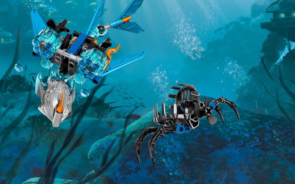 Đồ chơi Lego Bionicle Akida Creature of Water Akida 71302 – Sinh vật nước