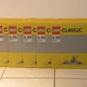 Đồ Chơi Lego Classic Gray Baseplate 10701 – Tấm nền xây dựng