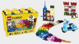 Đồ Chơi Lego Classic Large Creative Brick Box 10698 – Thùng gạch lớn sáng tạo